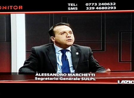 08 gennaio 2015 – Intervento a Lazio TV