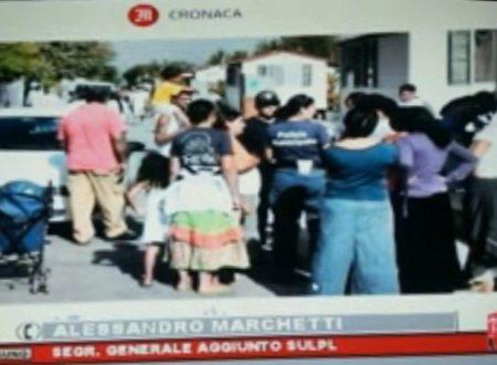 18 maggio 2015 – ROMA UNO – Intervento telefonico dopo l'aggressione al Campo Nomadi alla Poliziotta Locale