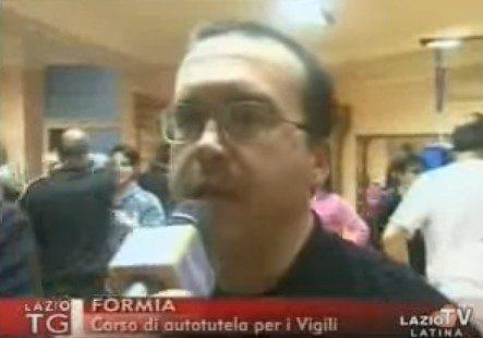 2010 01 28 LAZIO TV – Polizia Locale di Formia – Corso di Self Defense Sulpm/Fikm