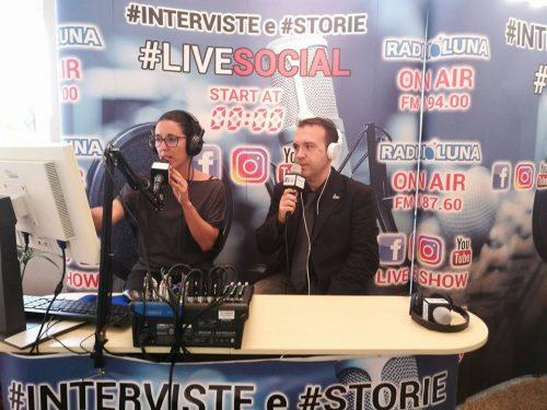 INTERVISTA A RADIO LUNA