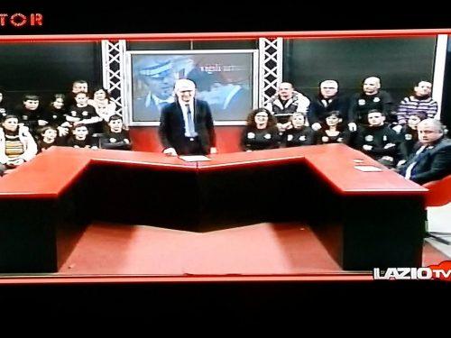 09 gennaio 2015: ANASPOL SELCIATELLA A LAZIO TV