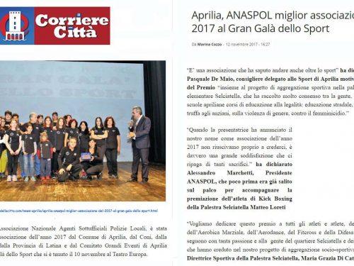 ANASPOL: Associazione dell'anno 2017