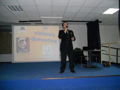 LA VIOLENZA DOMESTICA, Seminario al Liceo Primo Levi di Roma