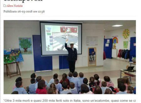 Corso di educazione stradale ad Aprilia