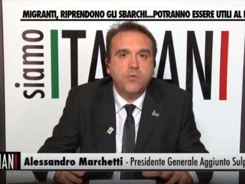 IN TV PER INTERVENIRE SUI PROBLEMI DELLA SICUREZZA IN ITALIA