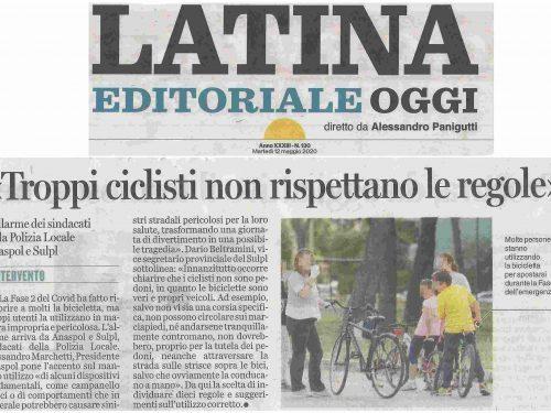 Bici-Sicura, il decalogo pubblicato dai media in tutto il Lazio