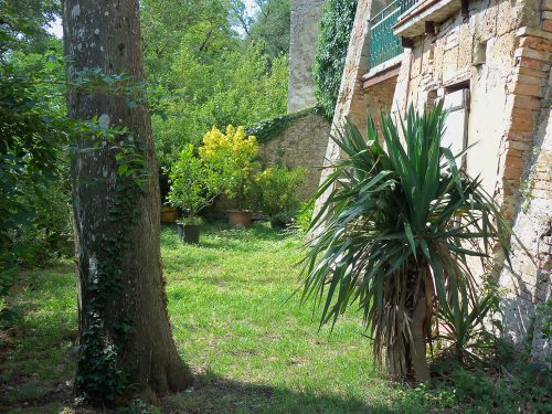 SAN CASCIANO DEI BAGNI (SI) vendesi appartamento al centro di circa 200 mq con giardino a € 100 mila