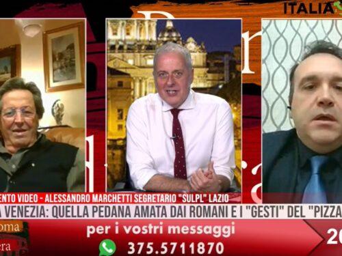 Torna la pedana a piazza Venezia, l'intervento a Roma di Sera su SuperNova