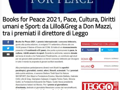 Books for Peace 2021: la mia soddisfazione nel vederlo crescere ogni anno